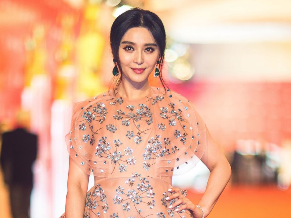 PHOTO: Fan Bingbing walks the red carpet of the 19th Shanghai International Film Festival at Shanghai Grand Theatre, June 11, 2016, in Shanghai, China.