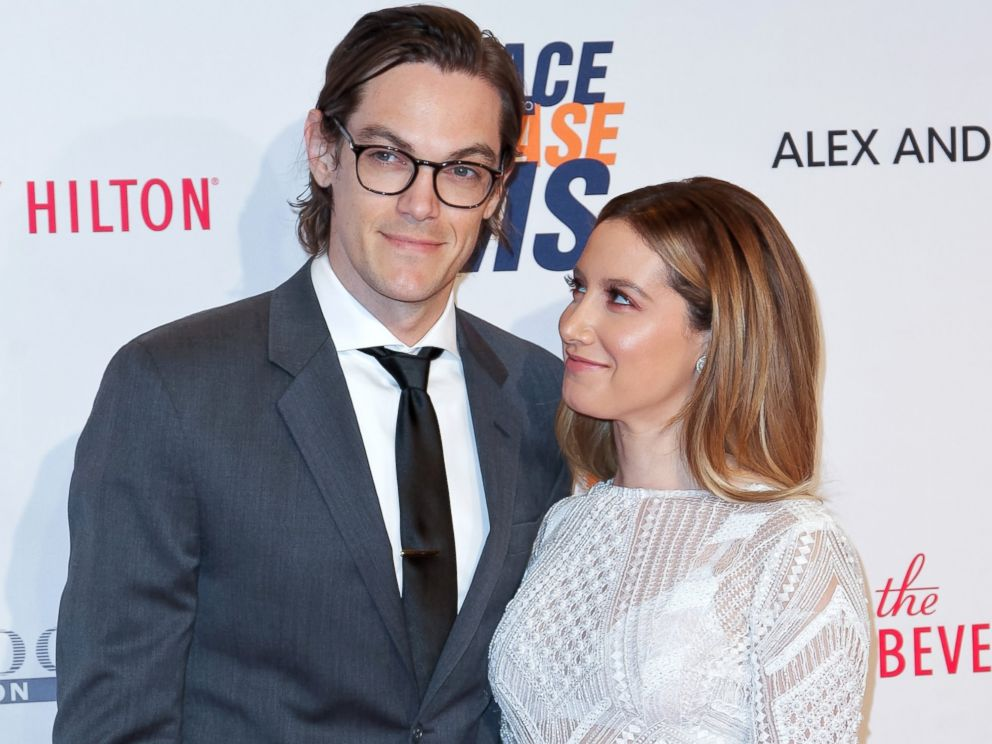 PHOTO: Christopher French and Ashley Tisdale attend the 23rd annual Race to Erase MS Gala at The Beverly Hilton Hotel, April 15, 2016, in Beverly Hills, Calif.