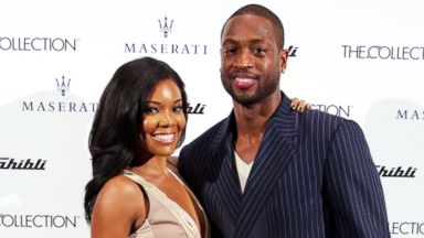 PHOTO: Gabrielle Union and Dwyane Wade attend THE COLLECTION unveiling of the the All-New 2014 Maserati Ghibli In Miami at The Collection on Nov. 21, 2013 in Miami, Fla.