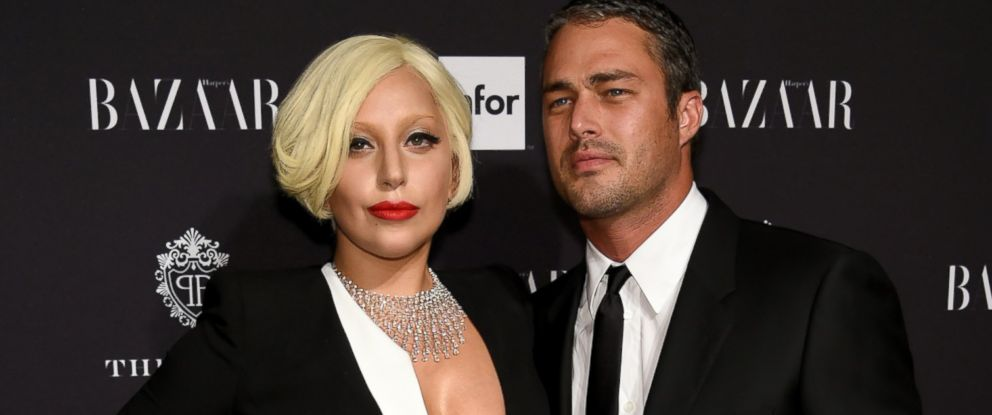 PHOTO: Lady Gaga and Taylor Kinney attend a Samsung GALAXY event at The Plaza Hotel