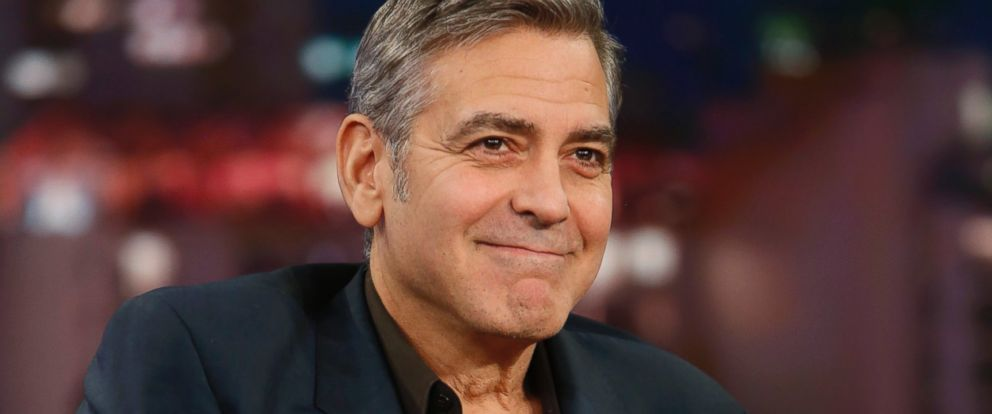 "PHOTO: George Clooney appears on""Jimmy Kimmel Live,"" Feb. 2, 2016."