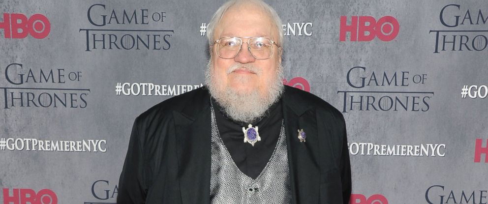"""PHOTO: George R.R. Martin attends the """"Game Of Thrones"""" Season 4 New York premiere at Lincoln Center"""