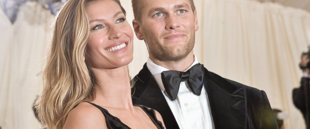 """PHOTO: Gisele Bundchen and Tom Brady attend the """"Charles James: Beyond Fashion"""" Costume Institute Gala at the Metropolitan Museum of Art in this May 5, 2014 file photo in New York."""