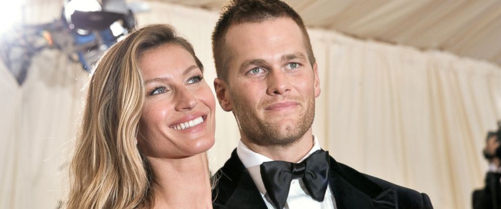 "PHOTO: Gisele Bundchen and Tom Brady attend the ""Charles James: Beyond Fashion"" Costume Institute Gala at the Metropolitan Museum of Art, May 5, 2014, in New York City."