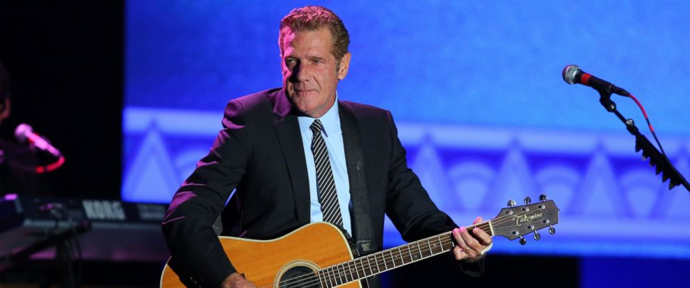 """PHOTO: Glenn Frey performs during the 2012 Starkey Hearing Foundations """"So the World May Hear Awards Gala, Aug. 4, 2012 in St. Paul, Minnesota."""