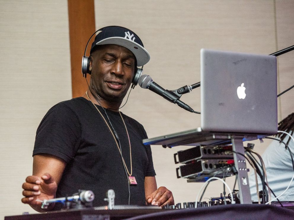 PHOTO: Rock and Roll Hall of Fame member Grandmaster Flash plays at the Sanctuary For Families Zero Tolerance Benefit 2016 at Pier Sixty at Chelsea Piers on June 7, 2016, in New York.
