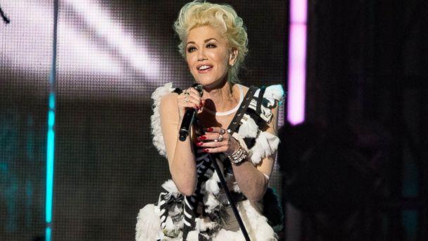 PHOTO:Gwen Stefani is seen at Jimmy Kimmel Live in Los Angeles, Feb. 16, 2016.
