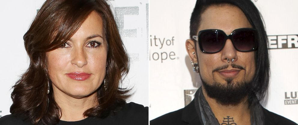 PHOTO: Mariska Hargitay and Dave Navarro
