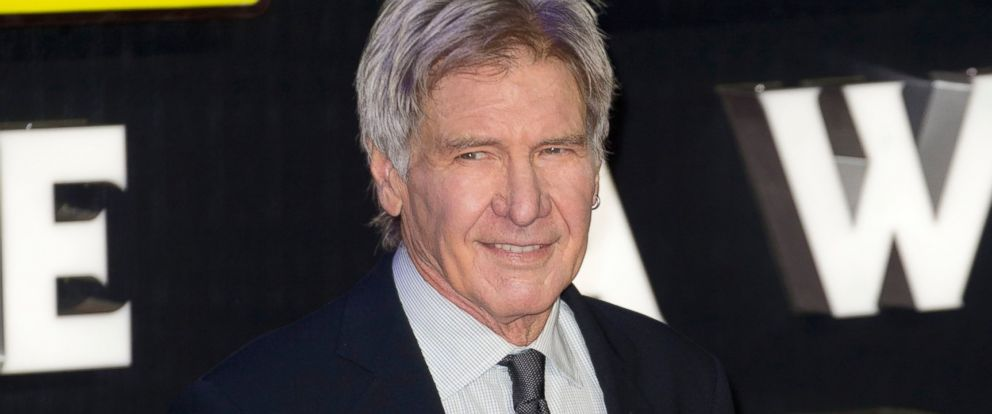PHOTO: Harrison Ford attends the European Premiere of Star Wars: The Force Awakens at Leicester Square, Dec. 16, 2015, in London.