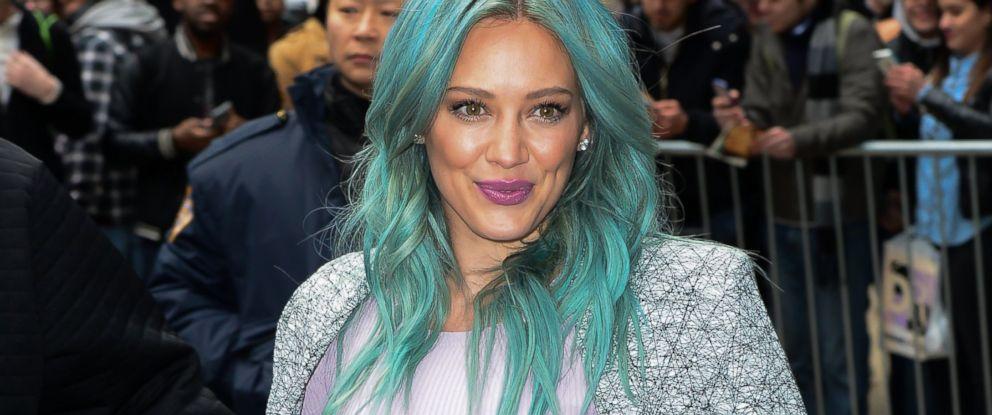 Hilary Duff Explains Why She Dyed Hair Green Abc News