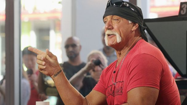 PHOTO: Hulk Hogan attends The Morning Show at The Morning Show Studios, Aug. 23, 2013 in Toronto, Canada.