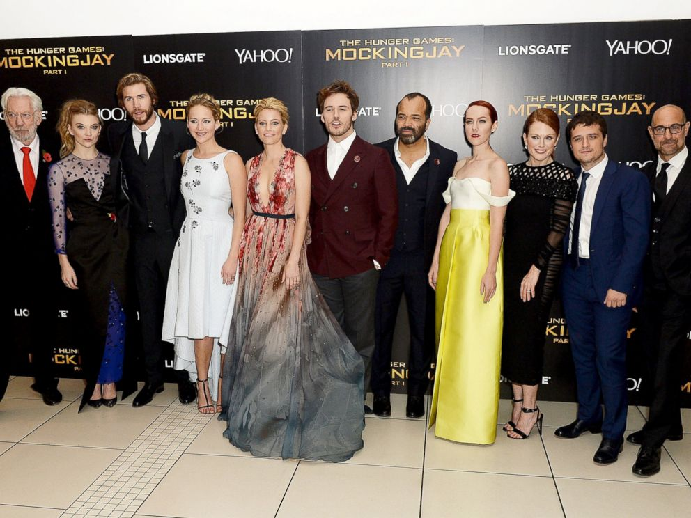 Josh hutcherson reveals best part about being done with the hunger photo the hunger games cast attend the world premiere of the hunger games mockingjay m4hsunfo