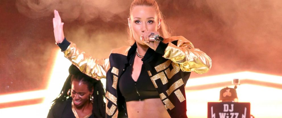 Iggy Azalea Says She Has Breast Implants Abc News