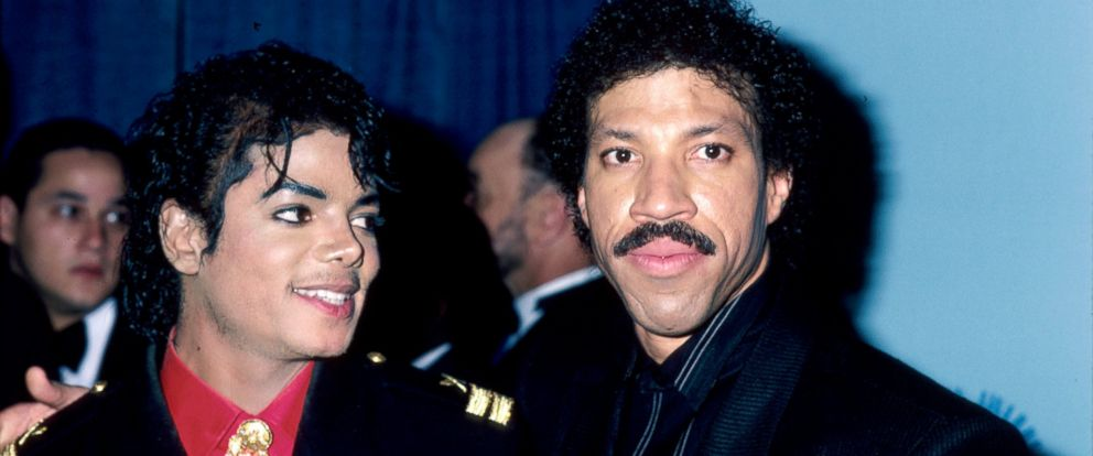 PHOTO: Michael Jackson and Lionel Richie at the 28th Annual Grammy Awards, Feb. 25, 1986.