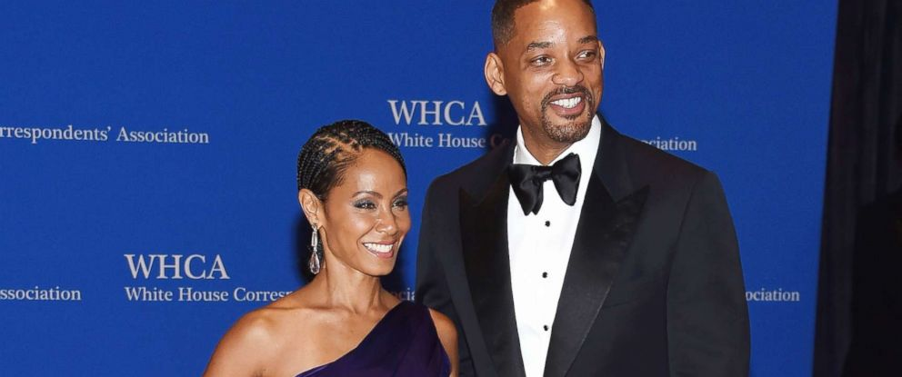 PHOTO: Jada Pinkett Smith and Will Smith attend the White House  Correspondents Association Dinner,