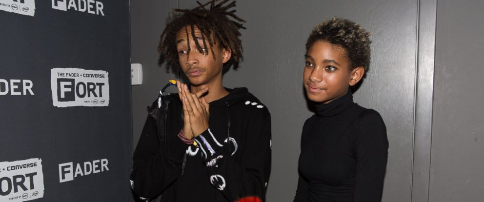 PHOTO: Jaden Smith and Willow Smith attend Day 2 of the Fader Fort at Converse Rubber Tracks Studio