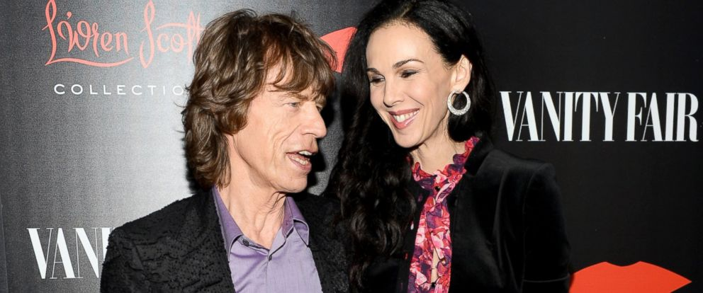 PHOTO: Mick Jagger and fashion designer LWren Scott attend the launch celebration of the Banana Republic LWren Scott Collection, Nov. 19, 2013, in Los Angeles.