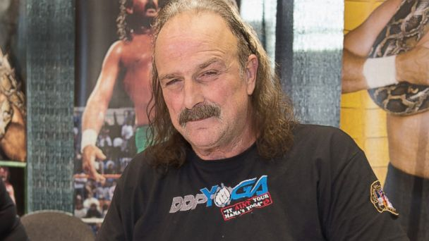 """PHOTO: Jake """"The Snake"""" Roberts attends the 2013 Chicago Comic and Entertainment Expo, April 26, 2013, in Chicago, Ill."""
