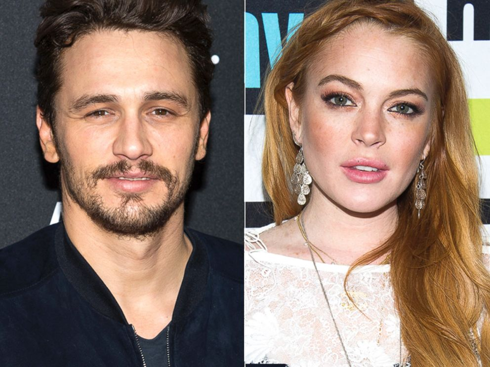 PHOTO: James Franco is seen in Brooklyn, New York, April 29, 2014 | Lindsay Lohan is seen at Watch What Happens Live, April 17, 2014.