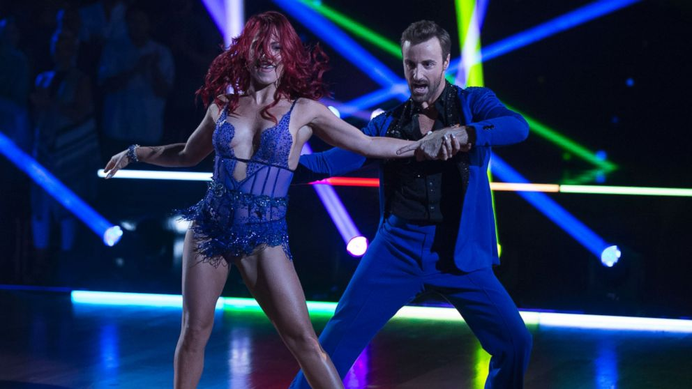 James Hinchcliffe and Sharna Burgess Prep for Their New 'Dancing With the  Stars' Number - ABC News