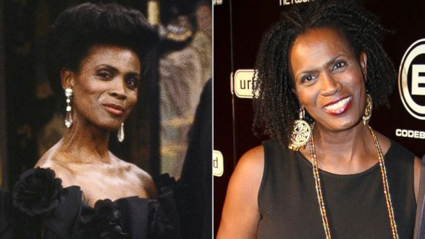 """PHOTO: Janet Hubert, left, as Vivian Banks in """"The Fresh Prince Of Bel-Air."""" Janet Hubert, right, attends the Urban World Film Festival opening night party on Sept. 10, 2008 in New York."""