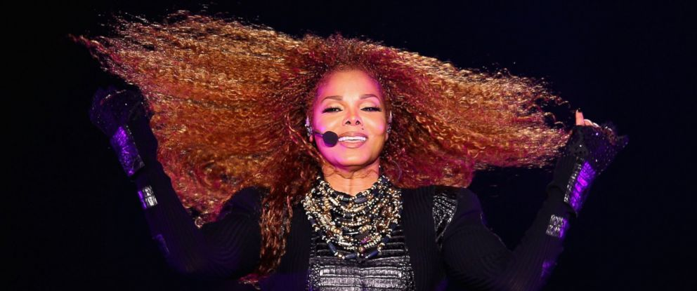 PHOTO: Janet Jackson performs after the Dubai World Cup at the Meydan Racecourse, March 26, 2016 in Dubai, United Arab Emirates.
