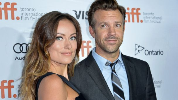 """PHOTO: Olivia Wilde and Jason Sudeikis attend the """"Rush"""" premiere during the 2013 Toronto International Film Festival, Sept. 8, 2013, in Toronto."""