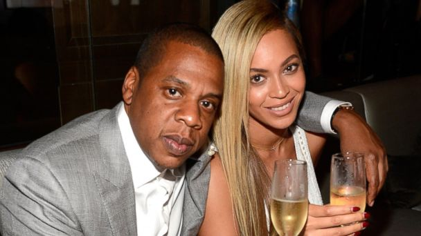 PHOTO: Jay-Z and Beyonce attend The 40/40 Club 10 Year Anniversary Party at 40/40 Club, June 17, 2013, in New York City.