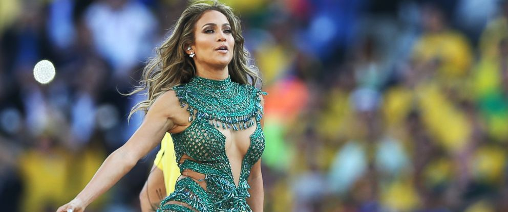 PHOTO: Jennifer Lopez preforms during the opening ceremony of the 2014 World Cup