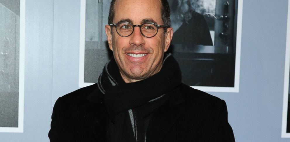 "PHOTO: Jerry Seinfeld attends the opening night of ""Beautiful - The Carole King Musical"" at The Stephen Sondheim Theatre ,Jan. 12, 2014 in New York."