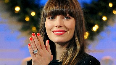 PHOTO: Jessica Biel visits 'Good Morning America,' Dec. 4, 2012, in New York City.