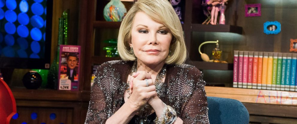 "PHOTO: Joan Rivers is pictured on ""Watch What Happens: Live"" on July 29, 2014."