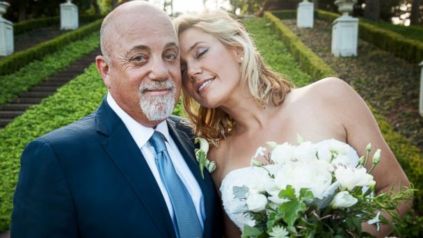 PHOTO: Billy Joel and Alexis Roderick tied the knot at a surprise wedding, July 4, 2015, at their estate in Long Island.