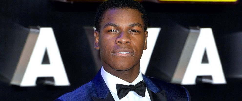 """PHOTO: John Boyega attends the European Premiere of """"Star Wars: The Force Awakens"""" at Leicester Square, Dec. 16, 2015 in London."""