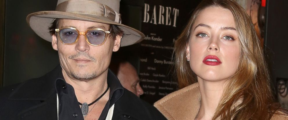 PHOTO: Johnny Depp and Amber Heard attend the Broadway Opening Night Performance of Cabaret