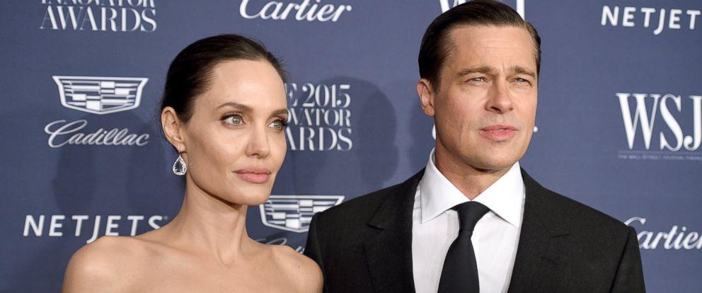 PHOTO: Angelina Jolie Pitt and Brad Pitt attend the WSJ. Magazine 2015 Innovator Awards at the Museum of Modern Art, Nov. 4, 2015, in New York City.