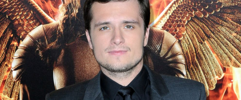 """PHOTO: Josh Hutcherson arrives at the Los Angeles premiere of """"The Hunger Games: Mockingjay - Part 1"""" at Nokia Theatre L.A. Live, Nov. 17, 2014, in Los Angeles."""