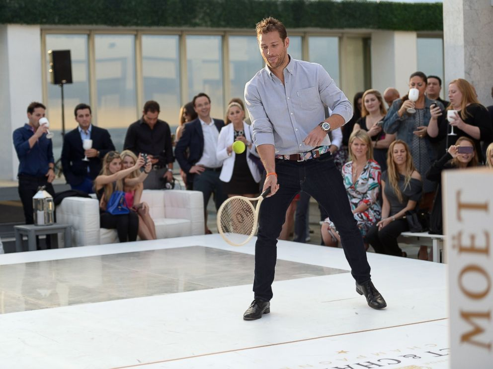PHOTO: Juan Pablo Galavis attends the Moet & Chandon Tiny Tennis with Roger Federer at Club 50 at Viceroy Miami, March 19, 2014, in Miami.