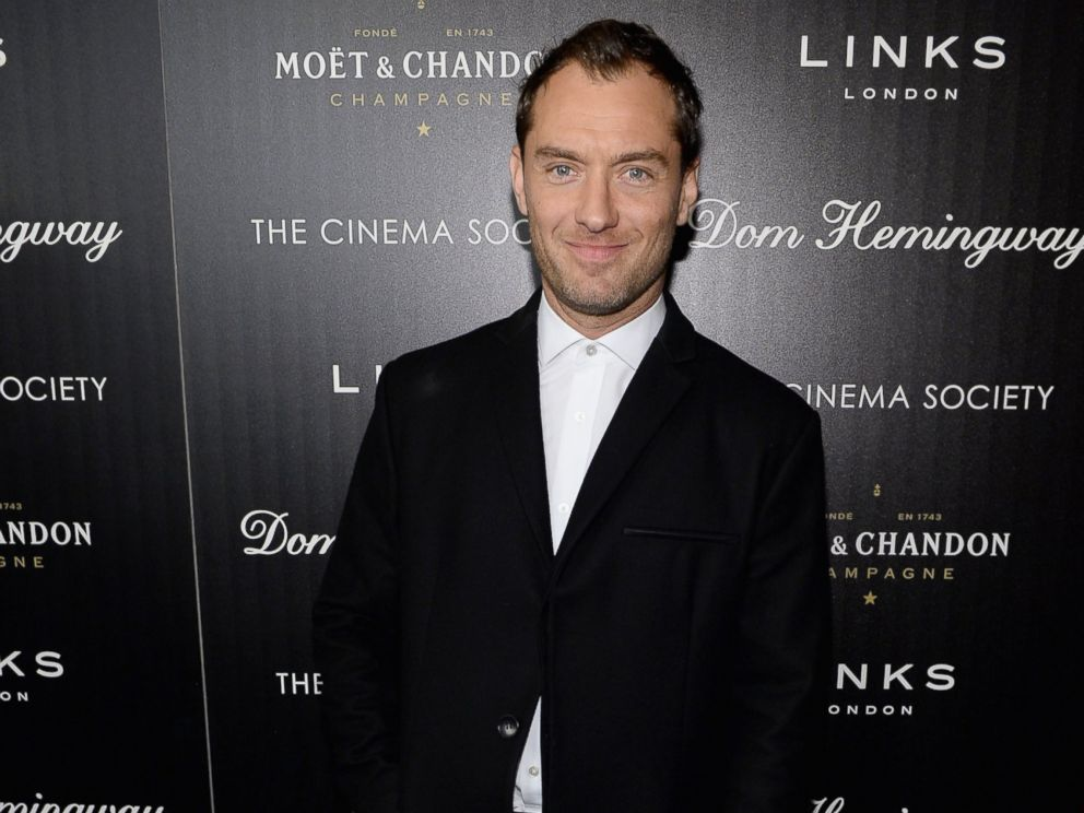 PHOTO: Jude Law attends the Fox Searchlight Pictures Dom Hemingway screening hosted by The Cinema Society And Links Of London in this March 27, 2014, file photo in New York City.