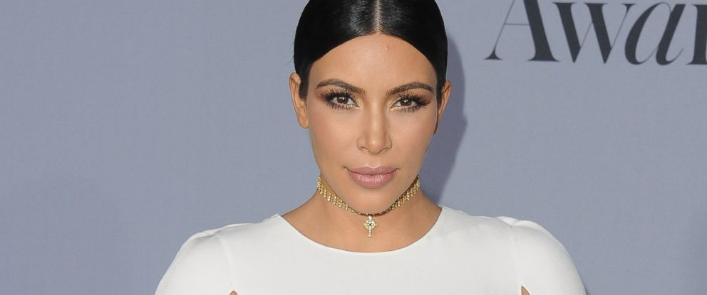 PHOTO: Kim Kardashian arrives at the InStyle Awards at Getty Center on Oct. 26, 2015 in Los Angeles.
