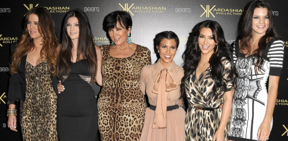 PHOTO: Khloe Kardasian, Kylie Jenner, Kris Kardashian, Kourtney Kardashian, Kim Kardashian, and Kendall Jenner attend the Kardashian Kollection Launch Party at The Colony, Aug. 17, 2011, in Hollywood, Calif.