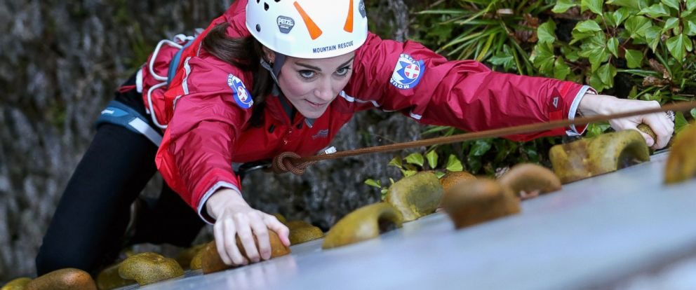 Duchess Kate And Prince William Go Rappelling In Wales Abc News