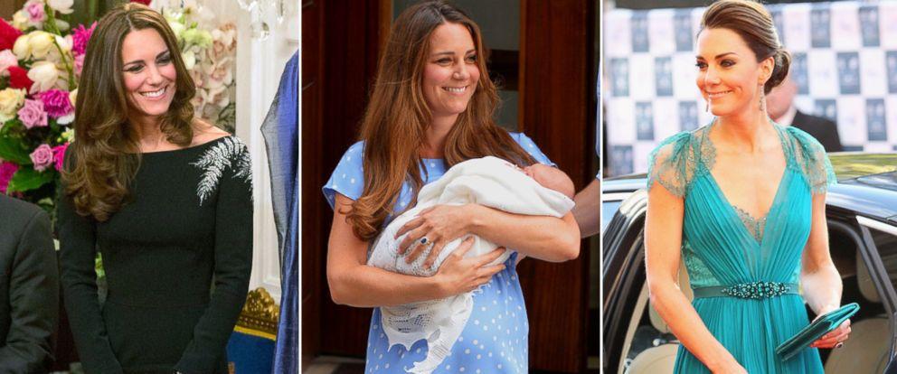 PHOTO: Kate Middleton in Jenny Packham dresses