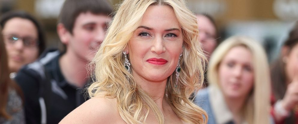 "PHOTO: Kate Winslet attends the European premiere of ""Divergent"" at Odeon Leicester Square in London"