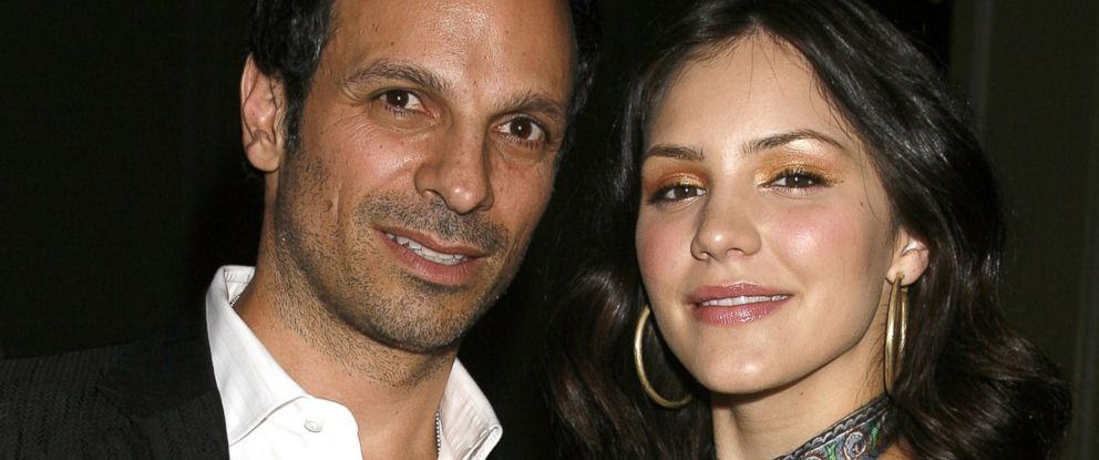 PHOTO: Nick Cokas, left, and Katharine McPhee are seen in this May 15, 2007, file photo.