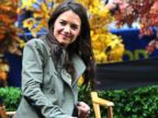 PHOTO: Actress Katie Holmes is seen outside Good Morning America, Oct. 9, 2013 in New York.