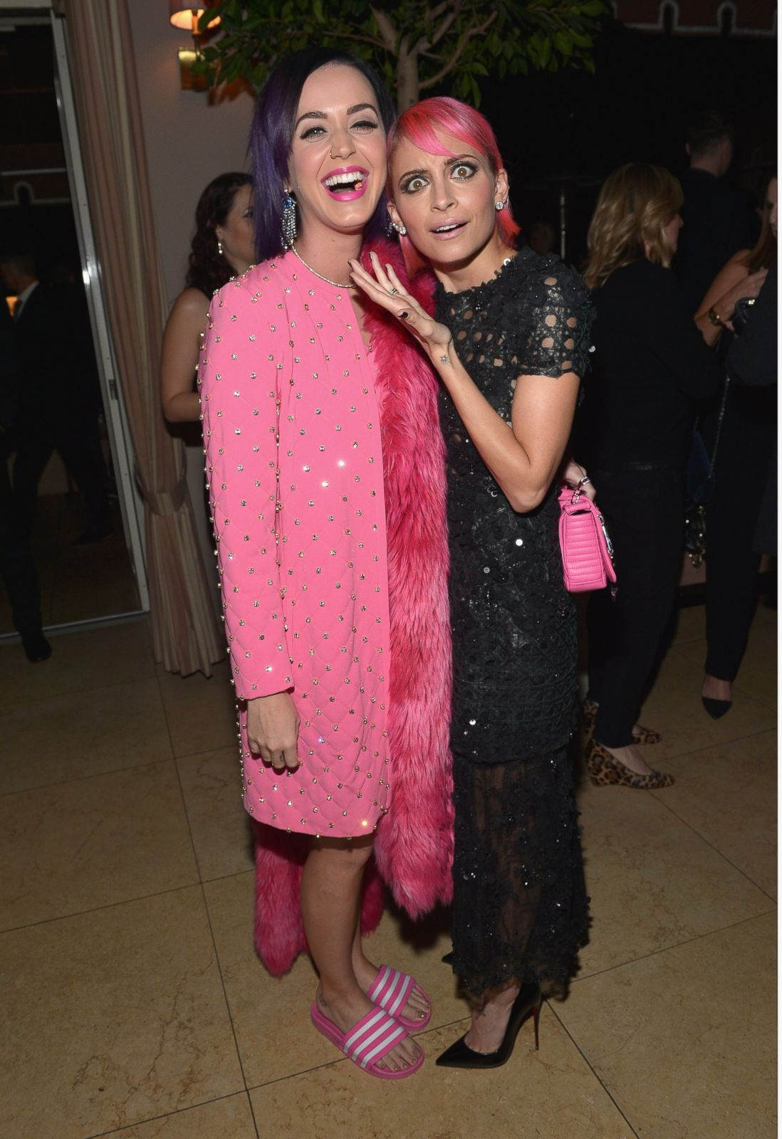 Katy Perry and Nicole Richie Make a Colorful Pair Picture | January ...