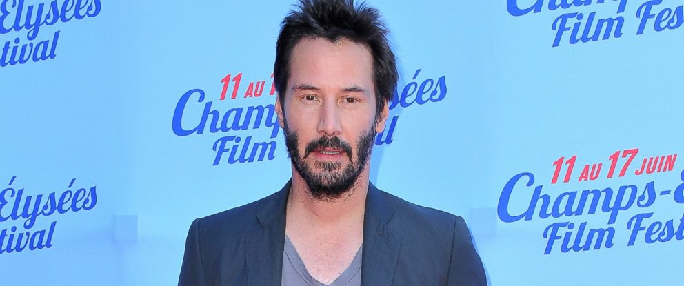 PHOTO: Keanu Reeves is pictured on June 15, 2014 in Paris, France.