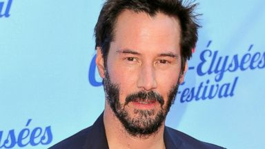 PHOTO: Keanu Reeves attends the Man of Tai Chi Paris Premiere during Day 4 of the Champs Elysees Film Festival, June 14, 2014, in Paris.