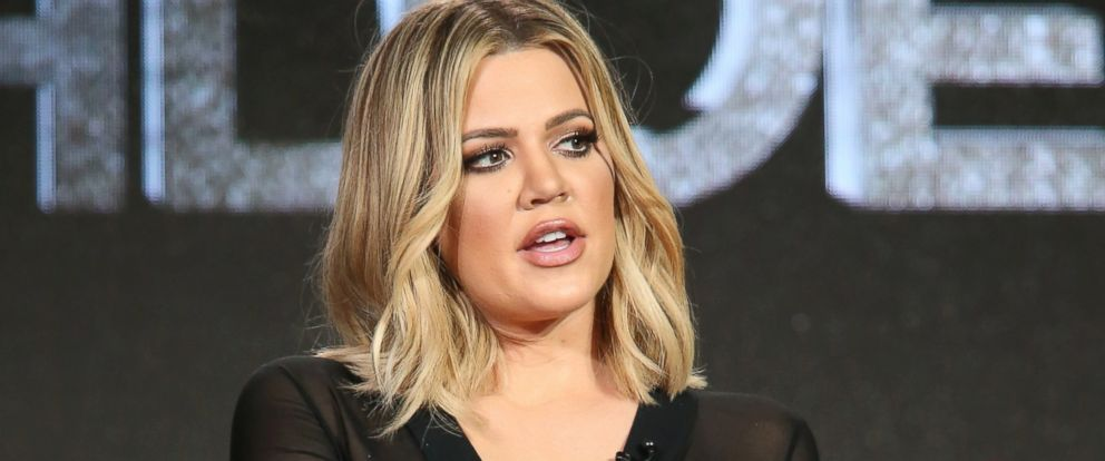 PHOTO: Khloe Kardashian, executive producer, speaks onstage during FYI - Kocktails with Khloe panel as part of the 2016 Television Critics Association Press Tour, Jan. 6, 2016 in Pasadena, Calif.